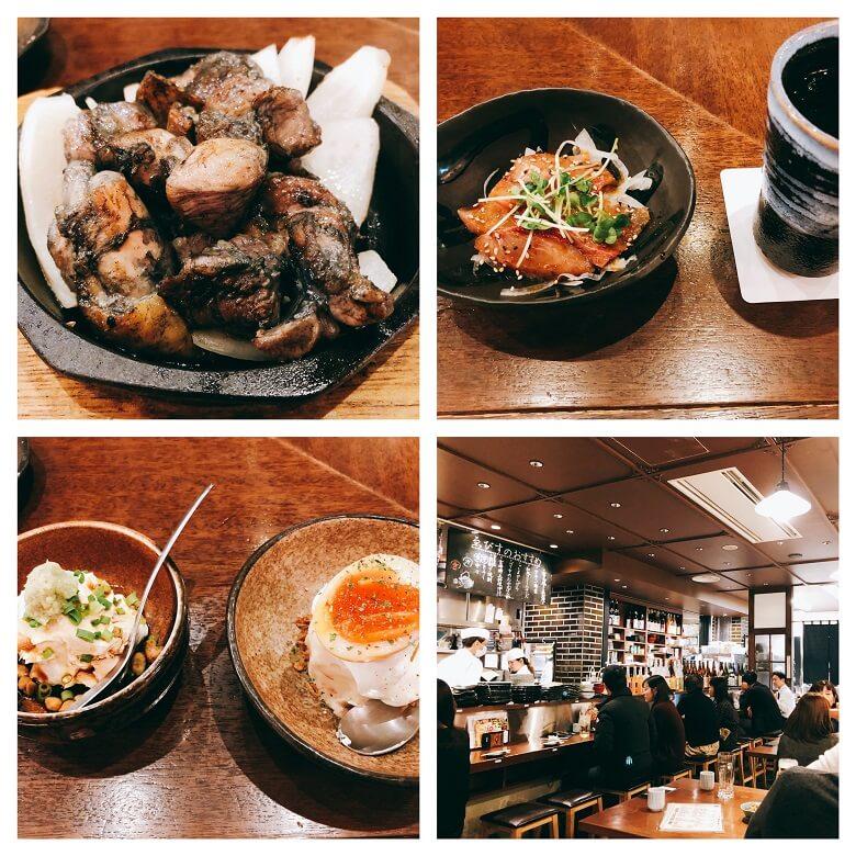 宮崎酒場ゑびす料理と内観
