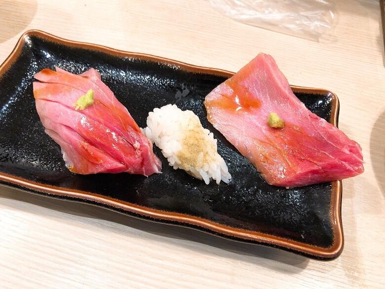 魚心の寿司ネタ