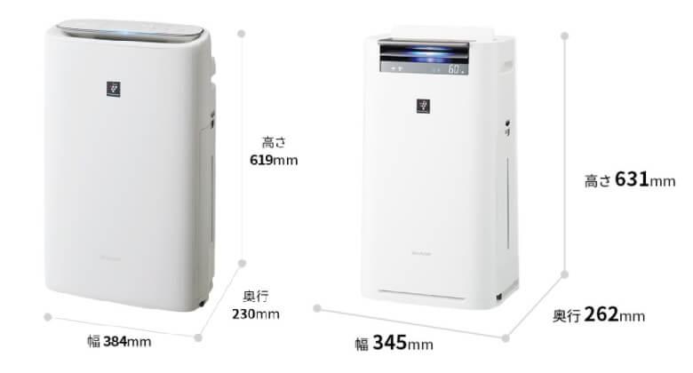 KI-NS50とKI-LS50のデザイン比較