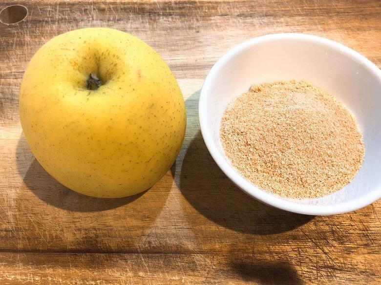りんごジャム材料