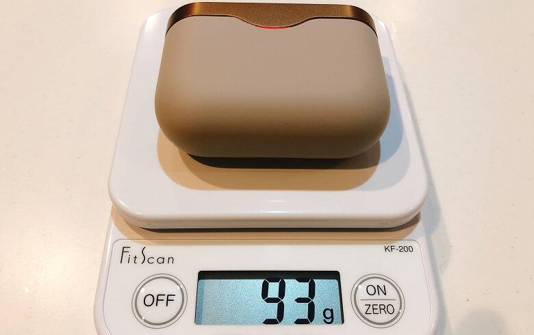 WF-1000XM3の重量