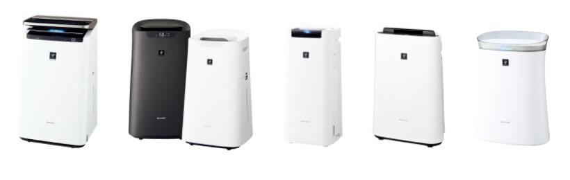 シャープ空気清浄機のデザイン