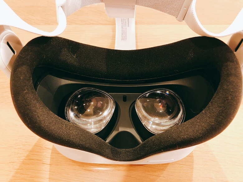 OculusQuest2レンズ