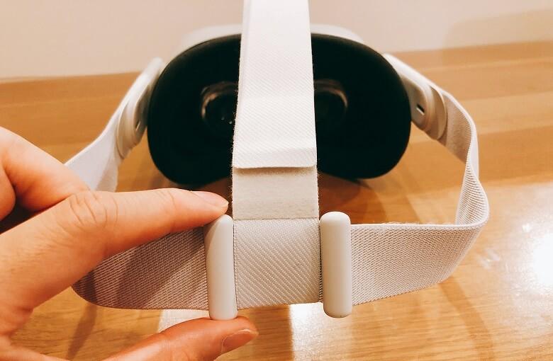 OculusQuest2頭周りの調整