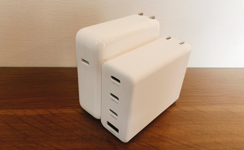 Lilnob 3C1AとMacBookProのアダプタ比較2