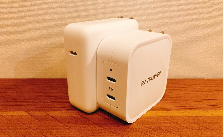 RP-PC128とMacBookProのアダプタ比較2