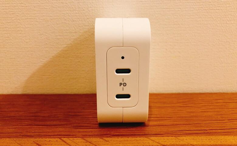RP-PC128の給電ポート