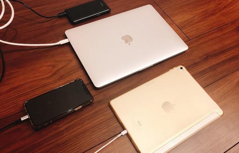 iPhone急速充電実験