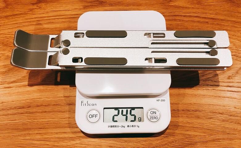 iVolerの重量