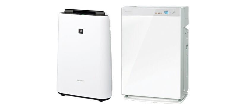 空気清浄機の代表的なメーカーのフラッグシップモデル